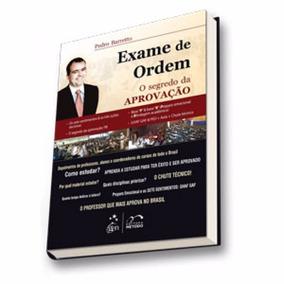 Exame Ordem O Segredo Aprovação Oab Promoção + Super Brinde