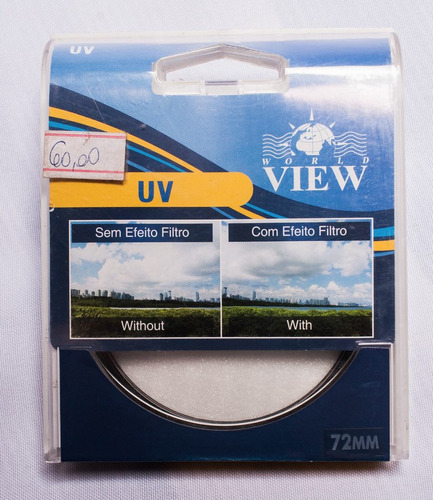 Filtro Uv 72mm Worldview