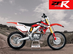 Moto Axxo Zfr 250 Año 2017 Color Rojo 250cc