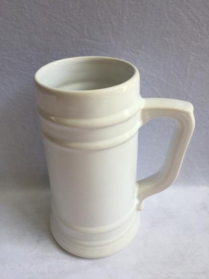 Chopps Ceramica 1 Litro Blanco Souvenir