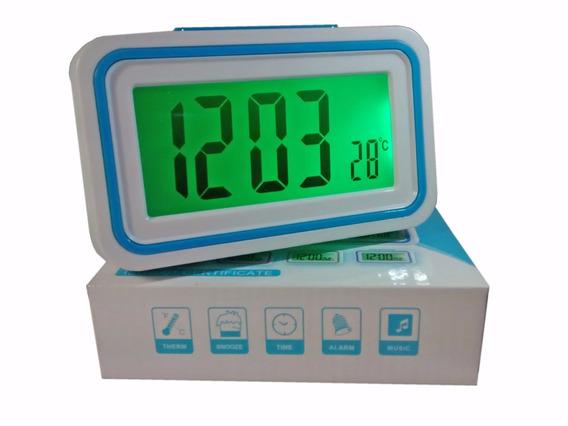 Relógio Despertador Fala Hora Temperatura Deficiente Visual