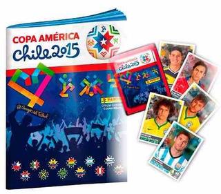 Album Copa America 2015 Com 100 Figurinhas Soltas