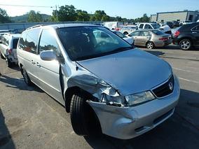 Honda Odyssey 2002 Chocada Se Vende Completa O En Partes