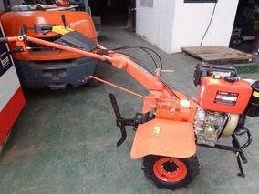 Motocultivador Nuevo Diesel 10 Hp Con Herramientas
