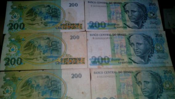 Nota Antiga, 200 Cruzeiros.