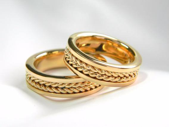 Aliança Romana Trançada
