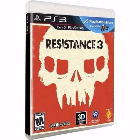 Jogo Ps3 Resistance 3 Original Midia Fisica