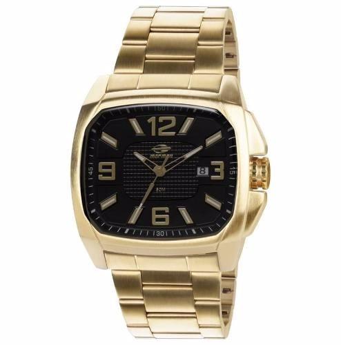 Relógio Mormaii Dourado Estilo Nixon - Mo2315zg 4p
