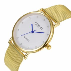 Relógio De Pulso Diamond Golds Feminino - Frete Grátis