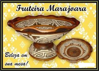 Cerâmica Marajoara Fruteira
