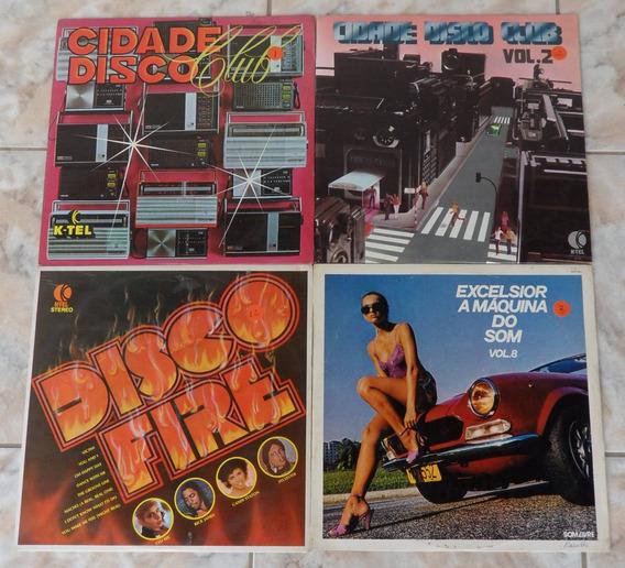 Cidade Disco Club-disco Fire-excelsior A Máquina Do Som-4lps