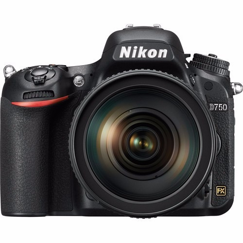 Câmera Nikon D750 24.3 Lente 24-120mm Full Frame 12x S/juros