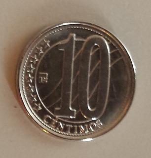 Moneda Venezuela 10 Céntimos 2012 Unc