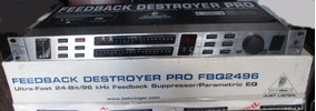 Equalizador Beheringer, Feedback Destroyer Pro, Fbq 2496