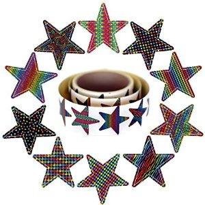 Estrella Pegatinas Rollo | Estos 10 Diseños Color Vibrante C