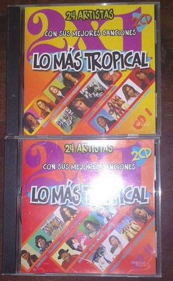 Lo Mas Tropical Cd 1 Y 2 (nuevos)
