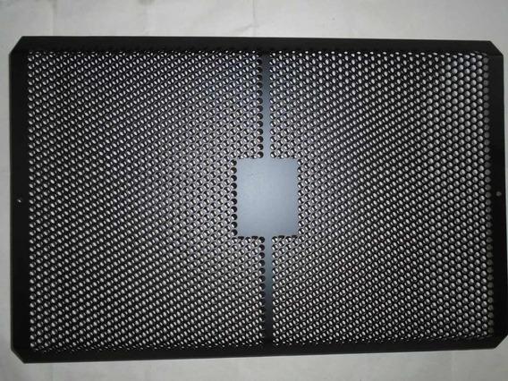 Tela De Caixa De Som Cortada A Laser Pintura Eletrostática @