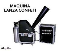 Alquiler De Maquinas Lanza Confeti - Luces Led - Sonido.