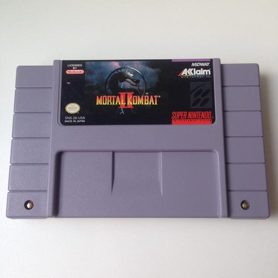 Fita Mortal Kombat 2 Original - Super Nintendo