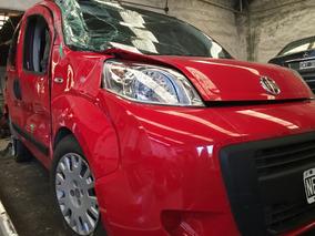 Fiat Qubo 2014 Chocada Poco De Baja Total