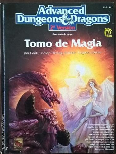 Tomo De Magia  (zinco Advanced Dungeons & Dragons)