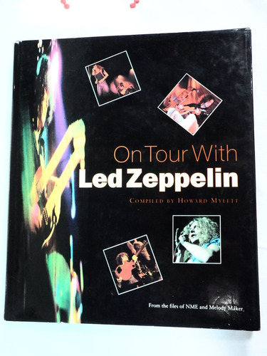 Livro On Tour With Led Zeppelin - Jimmy Page