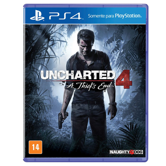 Uncharted 4 - A Thief´s End - Ps4