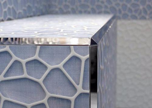 Imagen 1 de 6 de Cantonera Guardacanto 15mm Vista  Biselada Acero Inoxidable