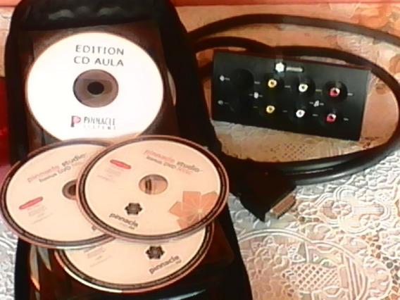 Placa De Vídeo Profissional Pinnacle 700 Pci Av/dv Completa