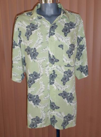 Puritan Camisa Hawaiiana Talla 2xl Estampado Floral