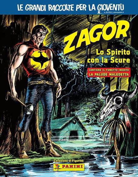 Album Italiano Zagor Lo Spirito Con La Scure - Bonellihq E17