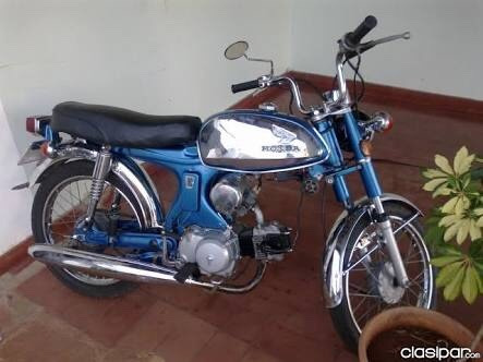 Honda S90 Pistera 1974