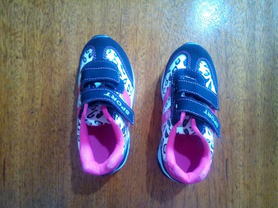 2 Zapatillas Pie Derecho Sport Para Nena Talle 29
