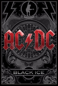 Backpatch Ac/dc - Black Ice - 28x20