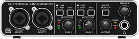 Interface De Áudio Behringer U-phoria Umc202hd - Ac0997