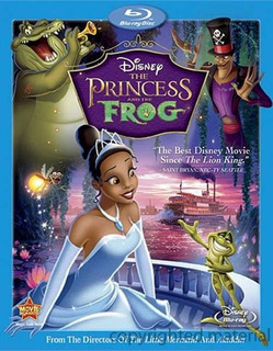 Blu-ray The Princess & The Frog / La Princesa Y El Sapo