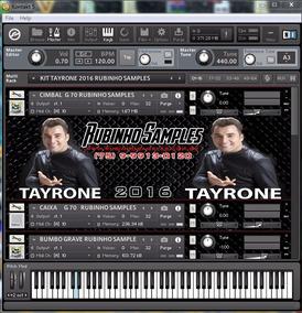 Kit Kontakt Tayrone 2016 Rubinho Samples