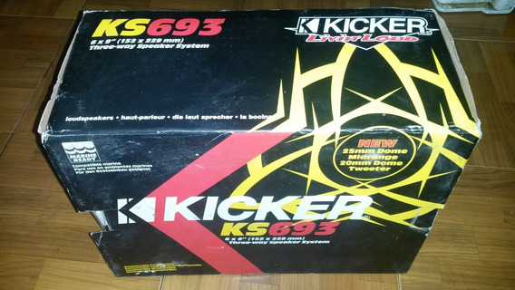 Par De Cornetas Tri-axiales Kicker Ks693