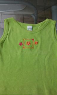Remerita Verde Manzana 9meses. 2da.seleçcion