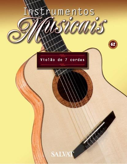 Miniatura Violão De 7 Cordas 62 Guitar Collection Salvat