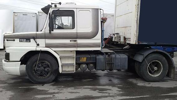 Scania T 112 360 Hw 4x2 1991 Motor Novo