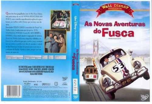 Dvd Original As Novas Aventuras Do Fusca+ Brinde
