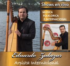 Show De Arpa Cumpleaños ,serenatas, Eventos Privados...