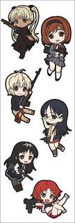 Plancha De Stickers De Anime De Gunslinger Girl