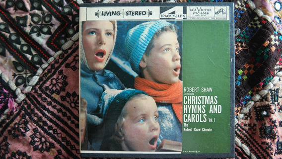 Fita De Rolo Christmas Hyms And Carols - Rca Victor Raridade