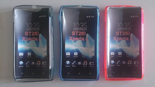 Forros Protectores Tpu Para Sony Xperia J