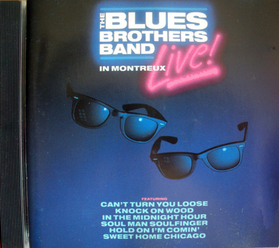 The Blues Brothers Band- Live In Montreux - Cd Imp. Alemania