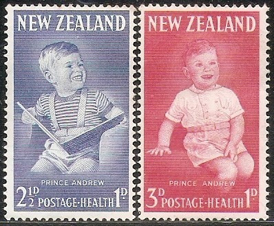 Pro - Infancia N. Zelanda Serie Mint Completa 414/5 Año 1968
