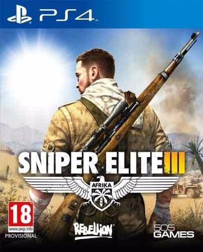 Sniper Elite 3 Ps4 Midia Fisica