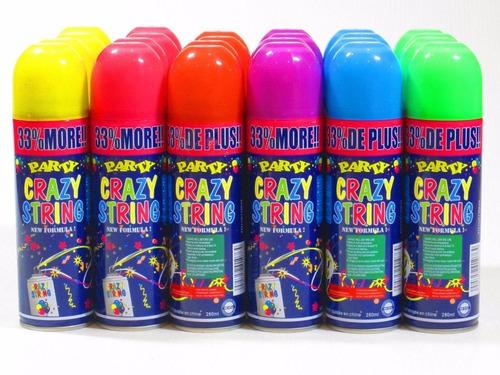 Serpentina En Spray !, 10  Unidades.